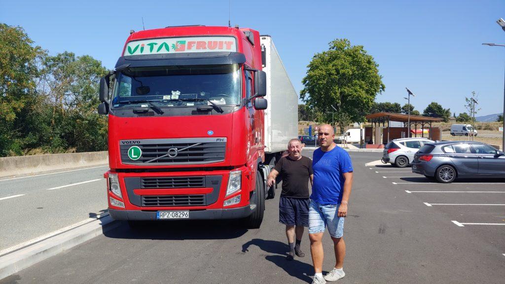 Serwis tir Luk-Mar po wymianie sprzęgła w Volvo
